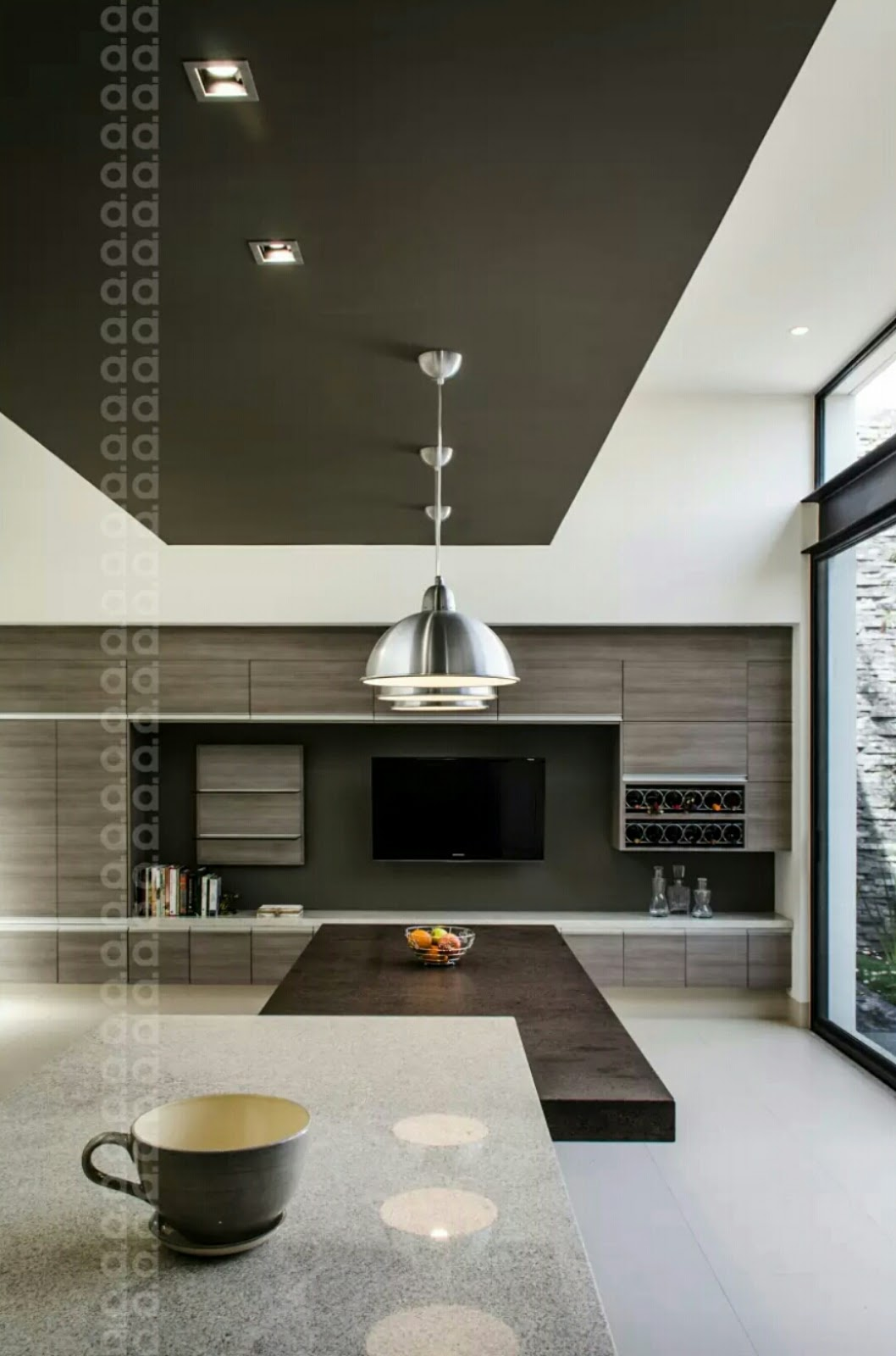 Open kitchen lay-out is different from one another. This type of kitchen is maintaining fresh and open feel. It's also more casual space and more welcoming especially in dining area, you feel more comfortable and easy to move while doing your daily routine in kitchen. Check images below for more designs.