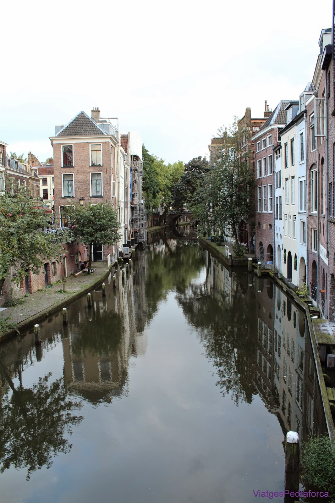 Canal d'Utrecht Holanda Països Baixos
