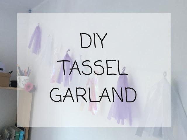 Make your own tassel garland