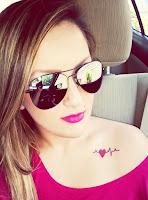 8 Verführerische Herz-Tattoos für Frauen