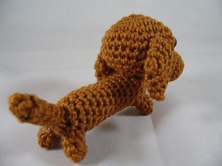 Amigurumi dachshund