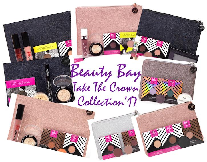 Take The Crown 2017 Beauty Bag Collection from Beauty Bay