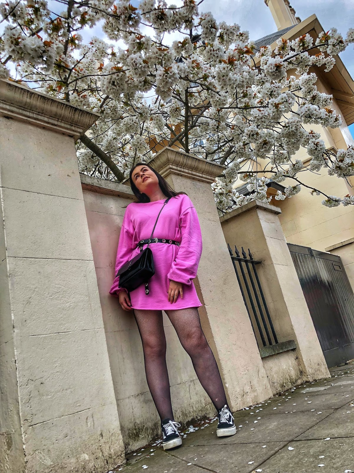 spring fashion, asos jumper dress, saint laurent blogger, uk fashion blogger, microblogger 2019, pink dress 2019