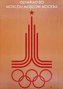 JOGOS OLÍMPICOS DE VERÃO DE 1980 EM MOSCOU NA RÚSSIA