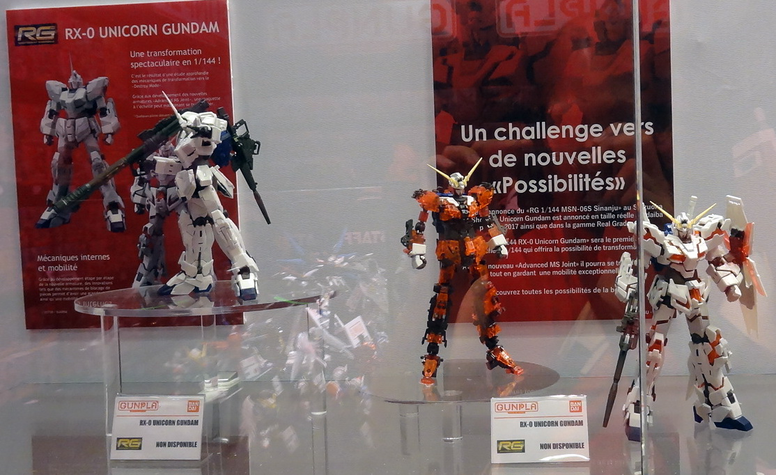 Gunplarhammer stand gunpla la paris japan expo 2017 for Stand en francais