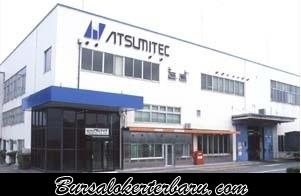 Lowongan Kerja di Karawang : PT Atsumitec Indonesia - Operator Produksi
