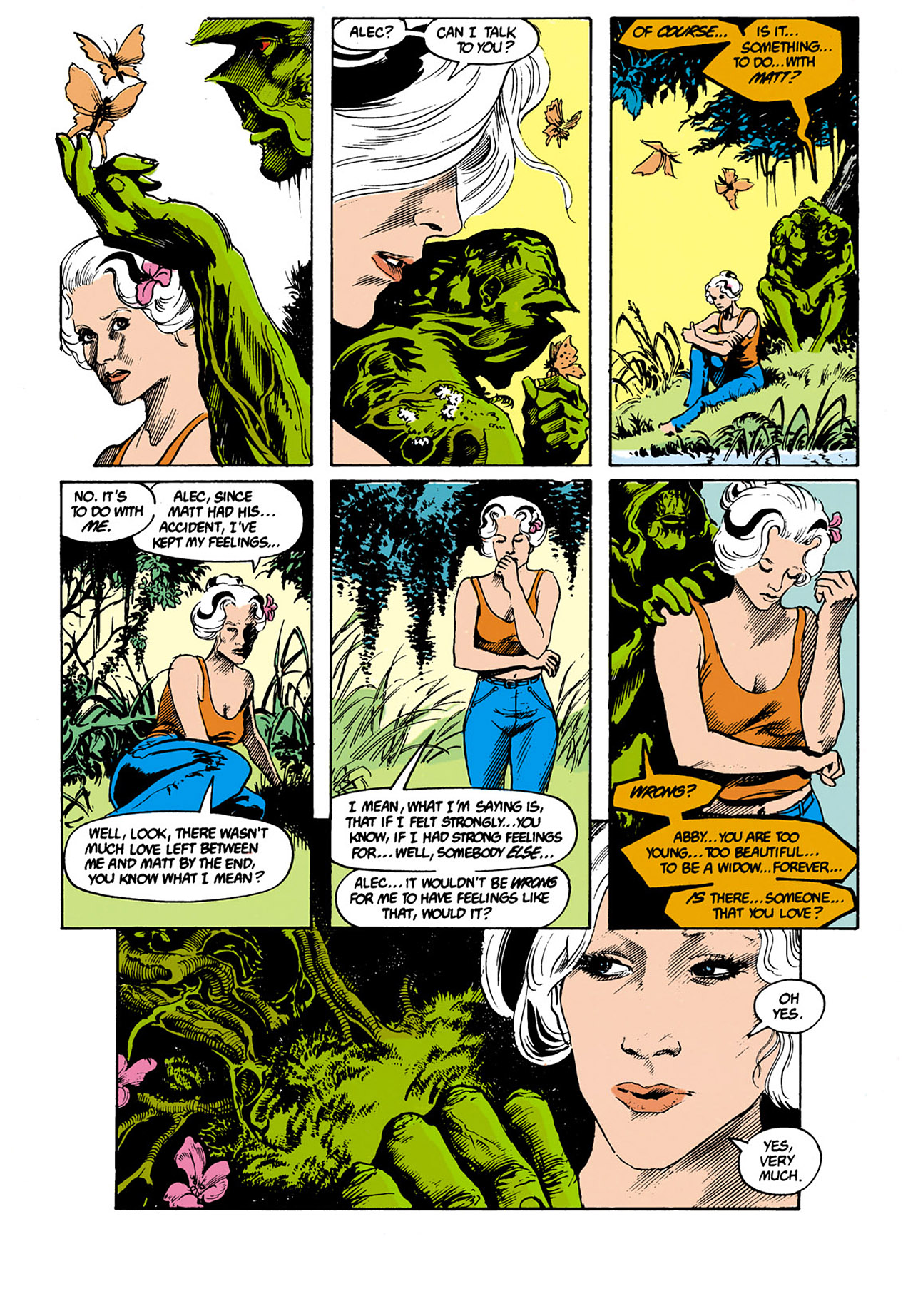 Swamp Thing (1982) Issue #34 #42 - English 5