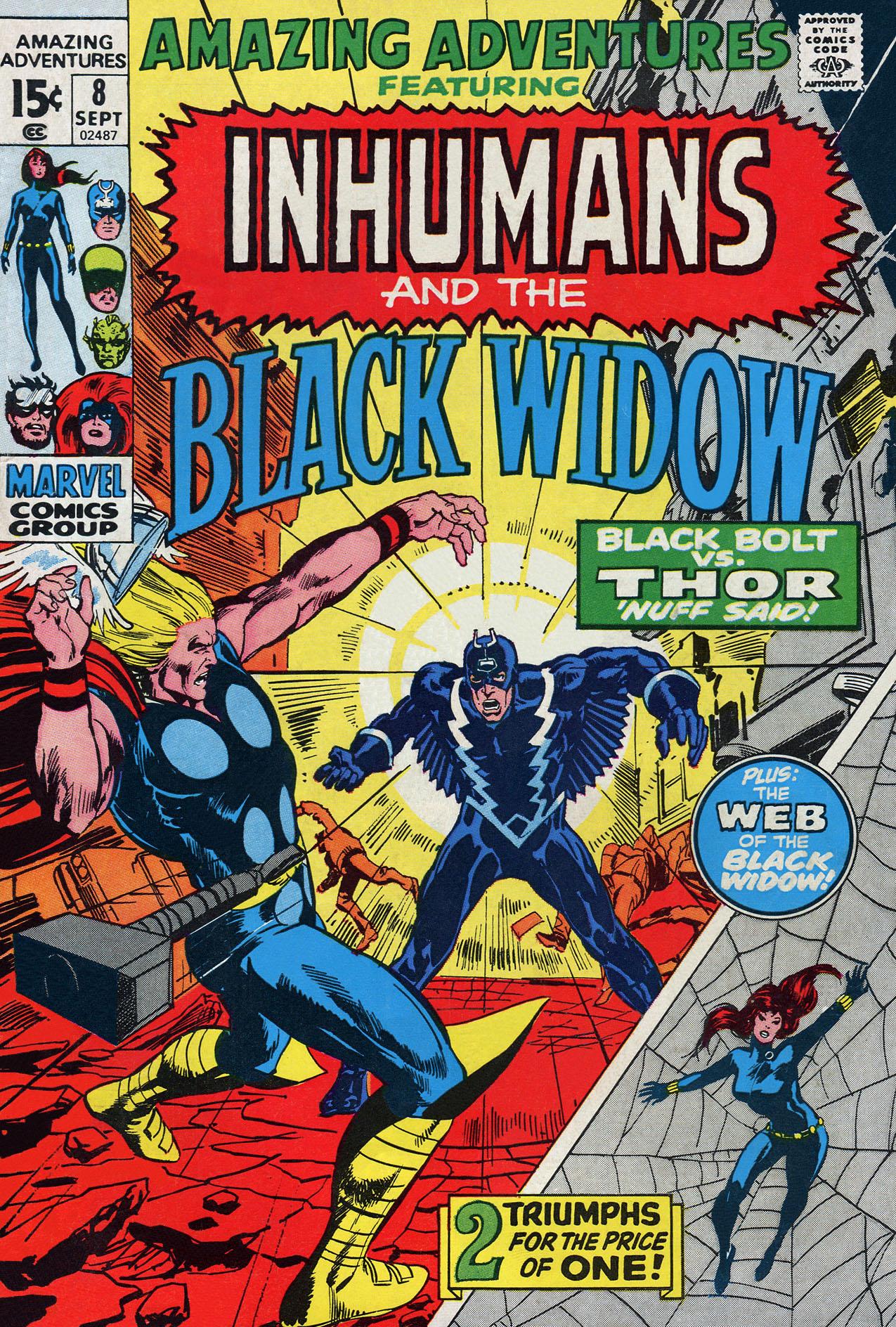 Read online Amazing Adventures (1970) comic -  Issue #8 - 1