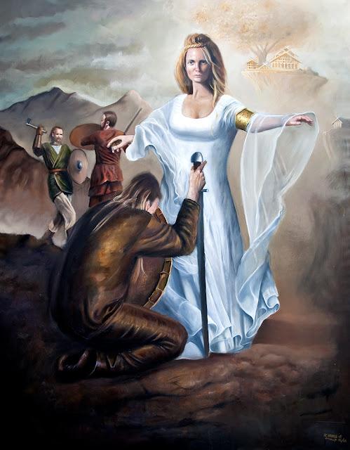kuntmaler nordisk mytologi