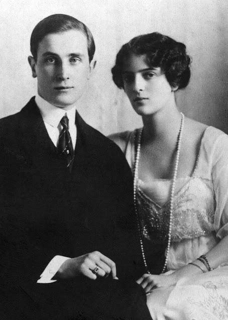 Félix Félixovich Yusúpov e Irina Alexándrovna