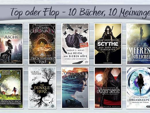 TOP ODER FLOP - 10 Bücher, 10 Meinungen