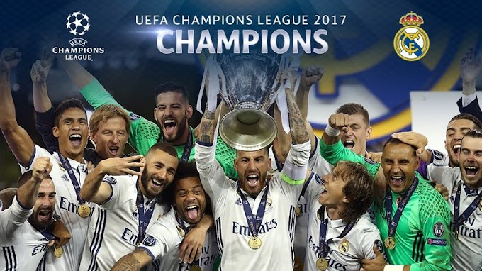 #uclfinal2017: Real Madrid wins the UEFA Champions League 2017