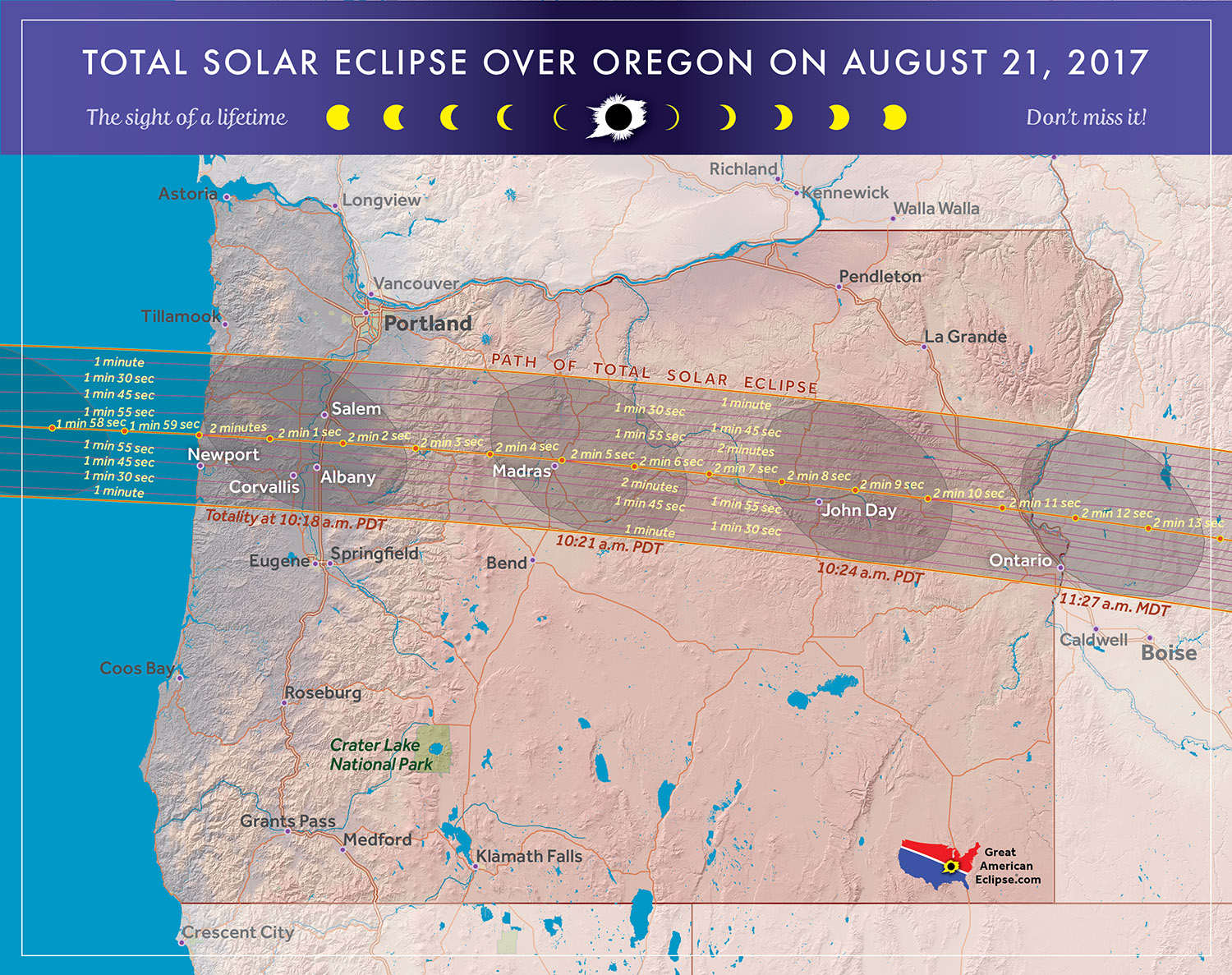Cliff mass weather and climate blog the august 21st total for Weather forecast solar eclipse 2017