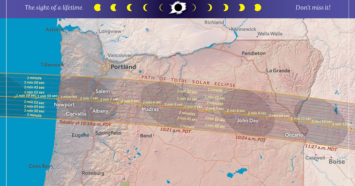 Cliff Mass Weather and Climate Blog The August 21st Total Eclipse