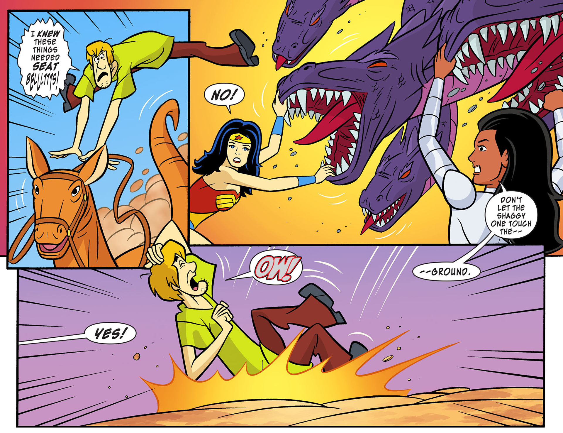Read online Scooby-Doo! Team-Up comic -  Issue #10 - 15