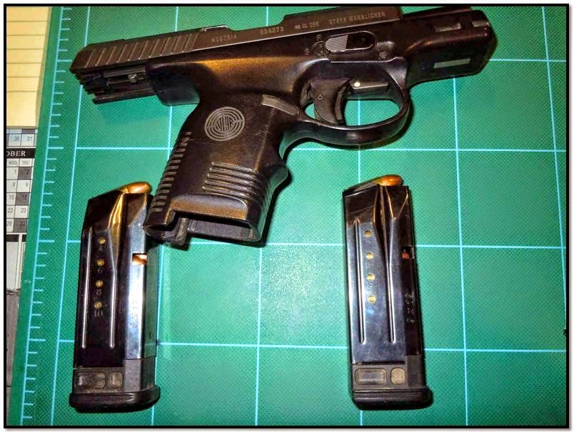 Loaded firearm discovered in carry-on bag at TUS.