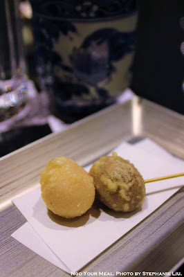 Yasaka-no-Tsuki Sweet Beans at Tempura Endo Yasaka