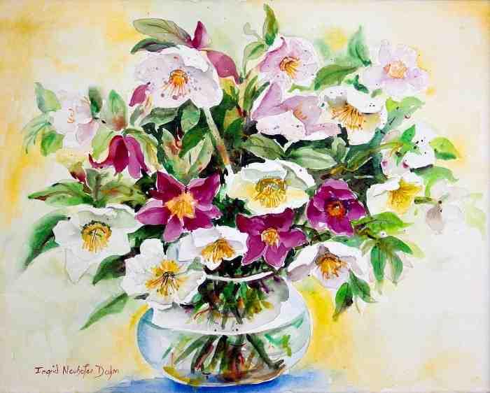 Бесконечное разнообразие цветов. Ingrid Dohm