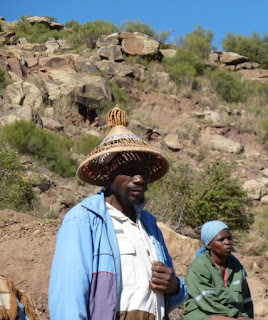 "The Basotho hat is known as ""mokorotlo"", along with the Basotho blanket is part of the traditional dress of Lesotho."