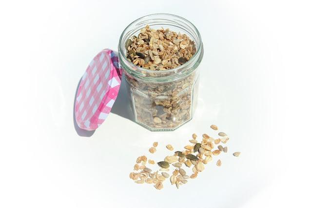 granola maison bio pour bébé allergique au lait de vache