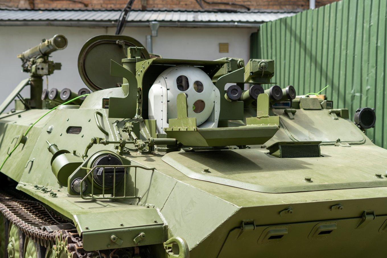 Українські компанії створюють глибоку модернізацію самохідного ПТРК Штурм-С