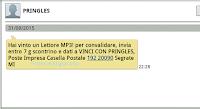 Logo Con Pringles vinto uno dei 70 lettori MP3 in palio: tentate anche voi