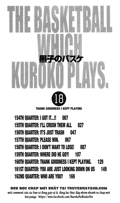 Kuroko No Basket chap 154 trang 5