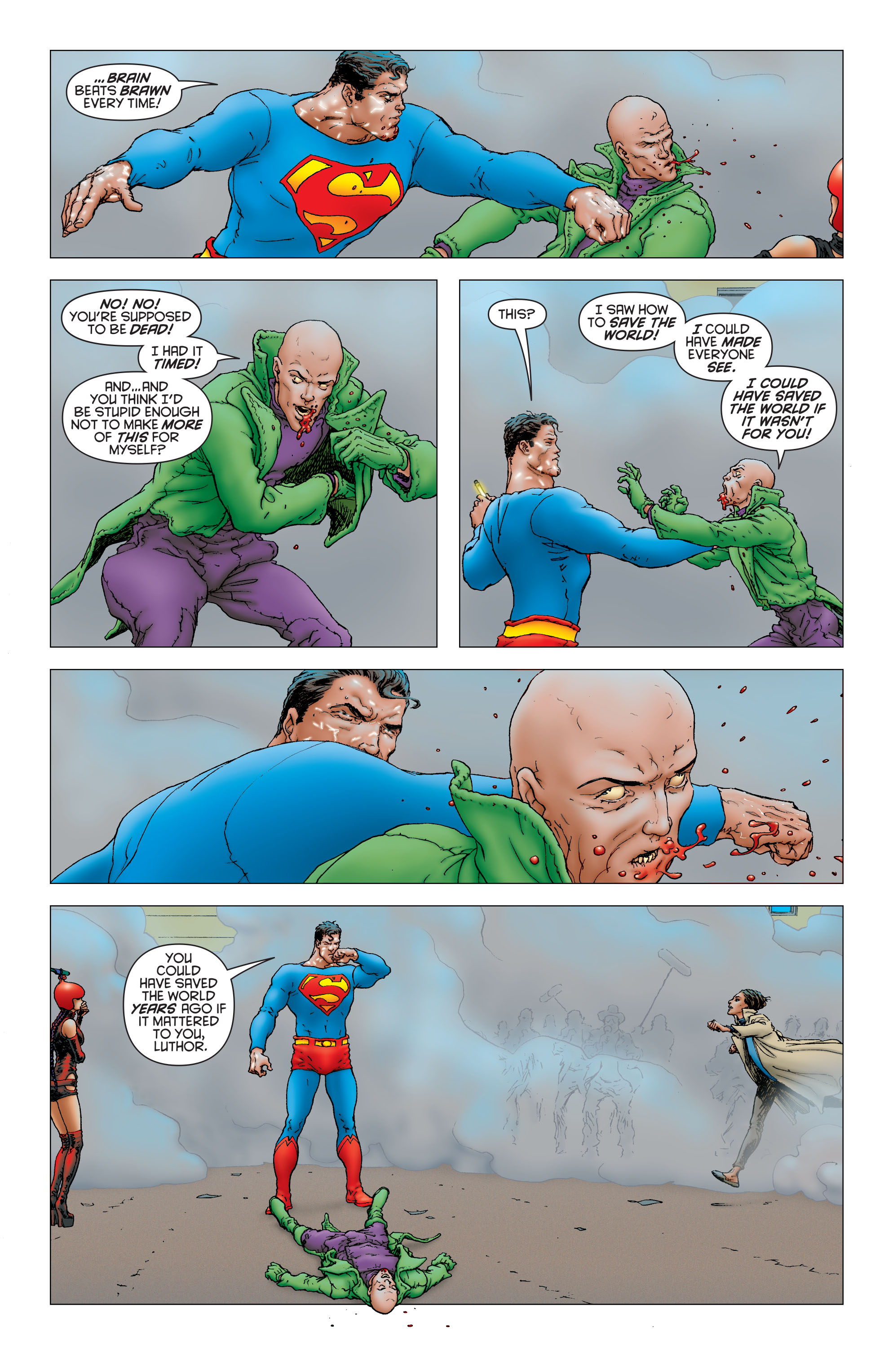 Read online All Star Superman comic -  Issue #12 - 17