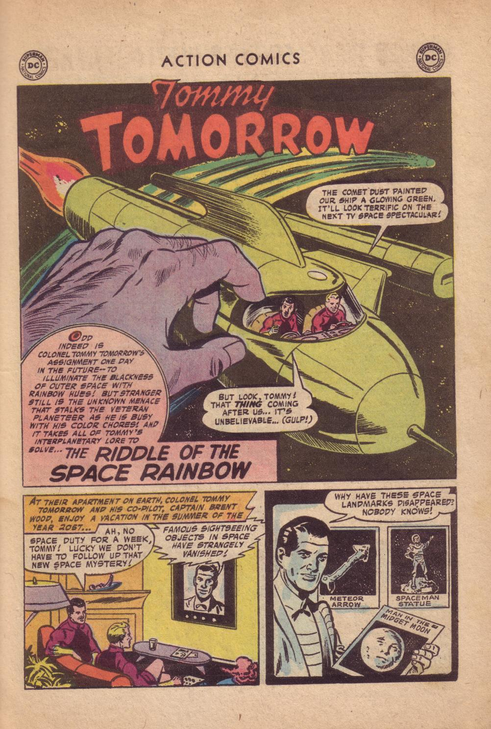 Read online Action Comics (1938) comic -  Issue #232 - 27