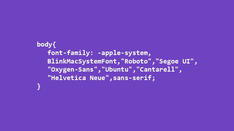 Sistem Yazı Tipi ve Özellikleri