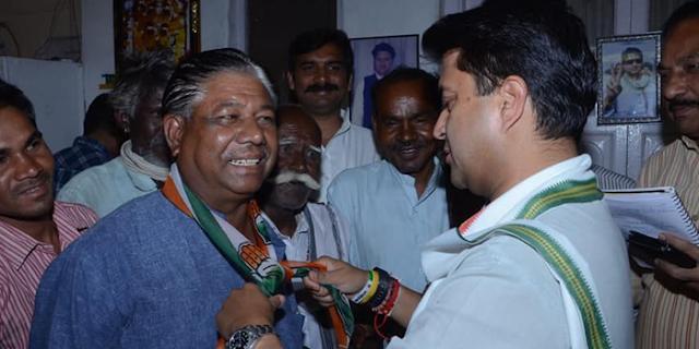 भाजपा नेता डॉ महेश आदिवासी ने कांग्रेस ज्वाइन की | SHIVPURI NEWS
