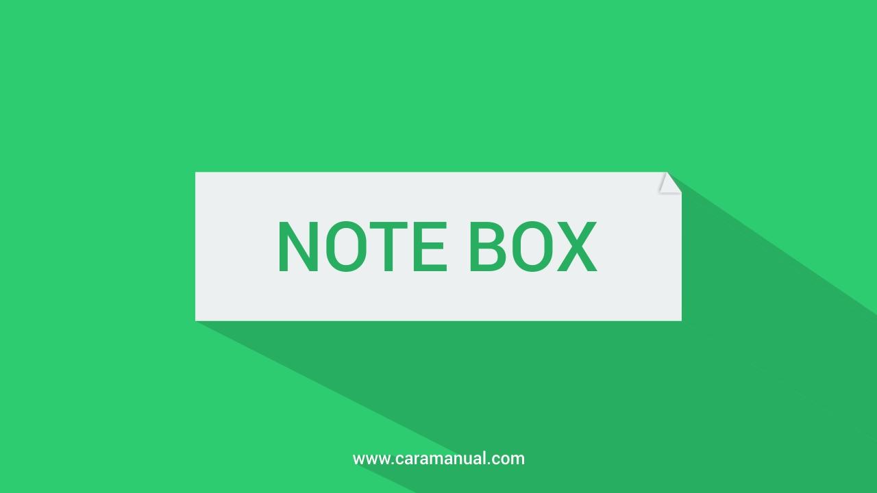 Cara Membuat Kotak Catatan Warna-warni di Blog