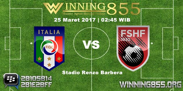 Prediksi Skor Italia vs Albania 25 Maret 2017