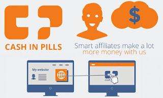 CashInPills - Programa de afiliados