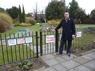 Kelsey Park Championship Minigolf course in Beckenham, Kent