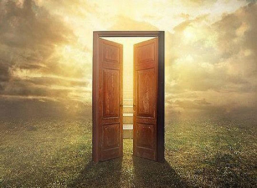 Nueva consciencia yo soy el yo soy ciudad santa sobre for Puerta que se abre sola