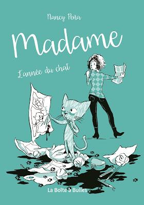couverture de Madame T1 de Nancy Pena chez La boite à bulles