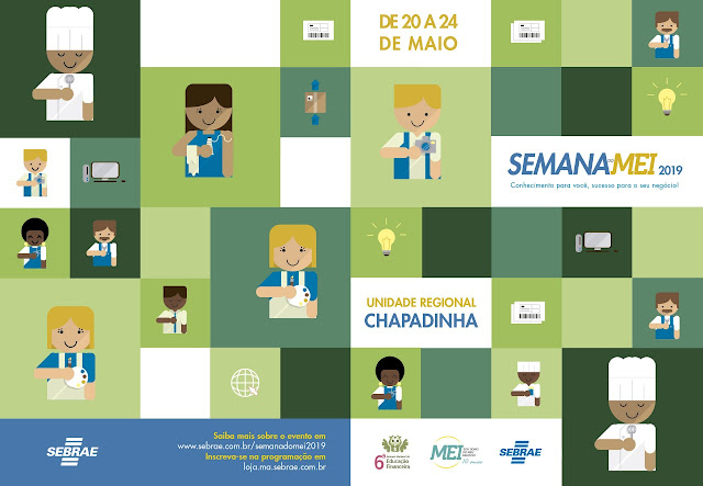11ª Semana do MEI 2019: Capacitação, inspiração e educação financeira em programação voltada para quem já tem ou quer começar um pequeno negócio no Maranhão