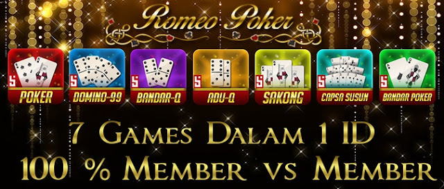 Romeopoker Agen Poker Online Terbaik Sepanjang 2018 - 2019
