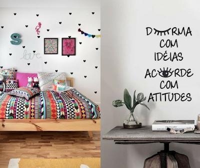 inspiração, inspirar, decoração, decorar, quarto, papel de parede