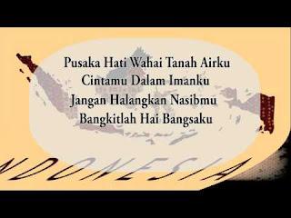 Teks Lirik Lagu Syubbanul Wathon (Cinta Tanah Air)