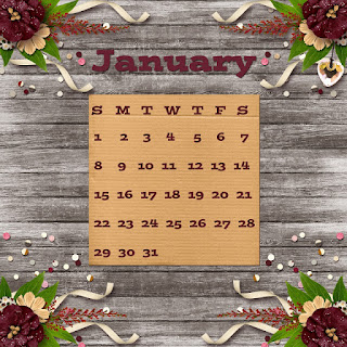 free January Calendar