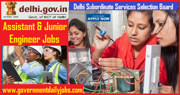 DSSSB Recruitment 2019 Junior Engineer and Assistant Engineer 264 Jobs,