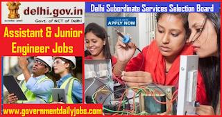 DSSSB Recruitment 2019 Junior Engineer and Assistant Engineer 264 Jobs,