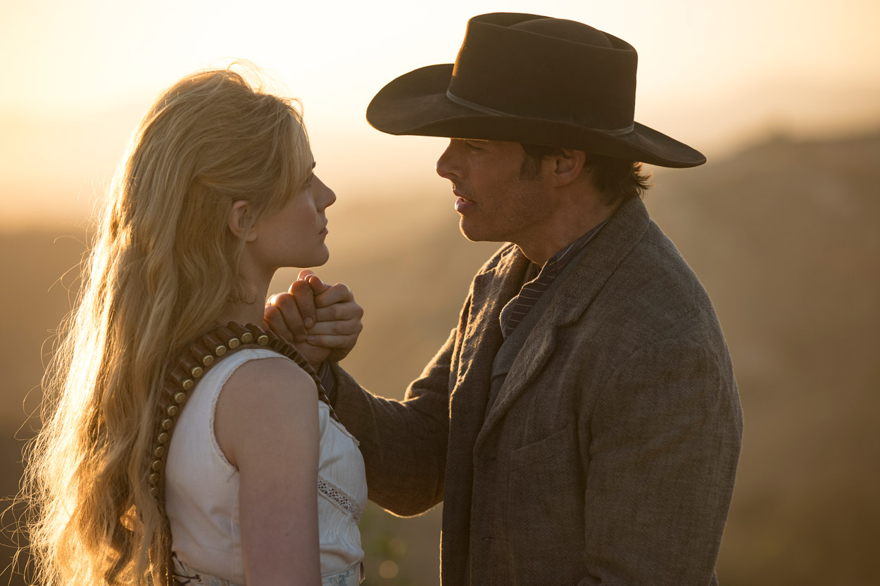 WESTWORLD - serie - season 2 -  Evan Rachel Wood y James Marsden
