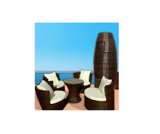 LexMod, LexMod Outdoor Furniture, LexMod Sofa Sets, LexMod Wicker Sofa Sets, Outdoor Furniture, Patio Furniture, Sofa Sets, Wicker Sofa Sets,