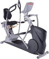 Octane Fitness xR6x Recumbent Elliptical, review features compared with xR6xi, with Power Stroke technology, burns up to 23% more calories & activates up to 3x more muscles than a standard recumbent bike