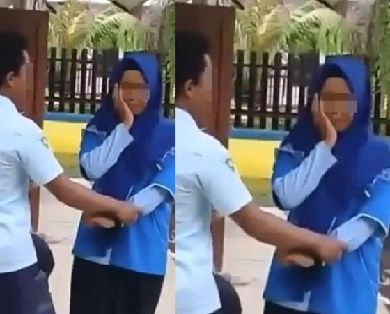 Video Siswa STM Tampar Siswi Yang Mendadak Viral