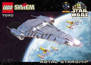 lego box naboo royal starship