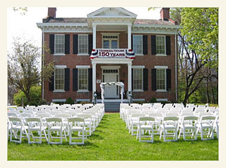 Hawken House Webster Groves Ceremony